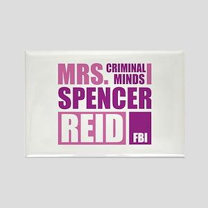 Mrs. Spencer Reid Rectangle Magnet