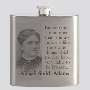 But You Must Remember - Abigail Adams Flask