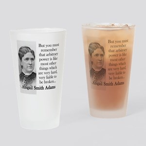 But You Must Remember - Abigail Adams Drinking Gla