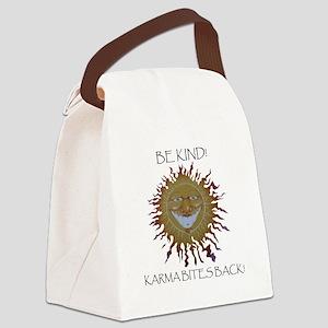 karma sun Canvas Lunch Bag