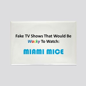 Fake TV Shows Series: MIAMI MICE Rectangle Magnet