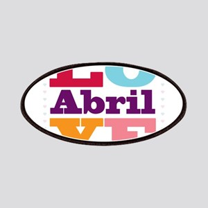 I Love Abril Patches