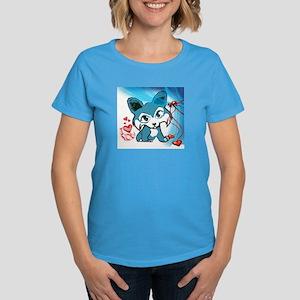 Be My Valentine Corgi Women's Dark T-Shirt