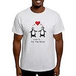 Love For Birds Penguins Light T-Shirt