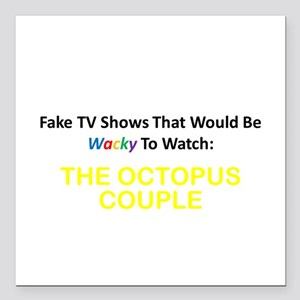 Fake TV Shows Series: THE OCTOPUS COUPLE Square Ca