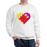 Ghost Heart Sweatshirt