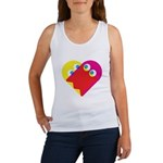 Ghost Heart Women's Tank Top