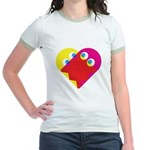 Ghost Heart Jr. Ringer T-Shirt