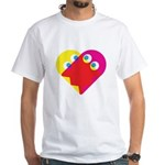 Ghost Heart White T-Shirt