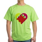 Ghost Heart Green T-Shirt