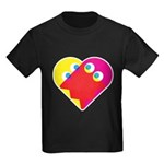 Ghost Heart Kids Dark T-Shirt