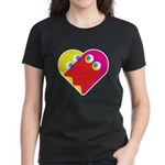 Ghost Heart Women's Dark T-Shirt