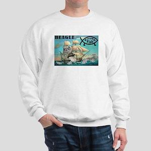 Beagle and the Footy Fish Sweatshirt