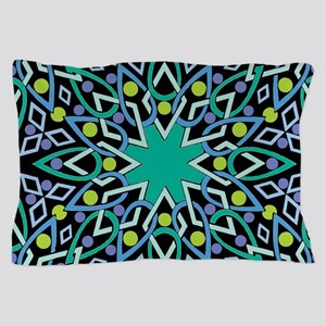 Abstract Wreath Pillow Case