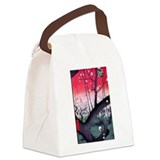 Hiroshige Canvas Lunch Bag