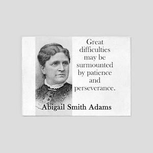 Great Difficulties May Be Surmounted - Abigail Ada