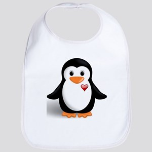 penguin with heart Bib