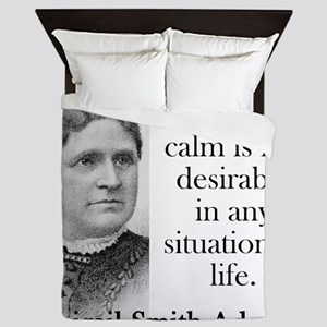 I Begin To Think - Abigail Adams Queen Duvet