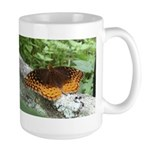 Great Spangled Fritillary Large Mug