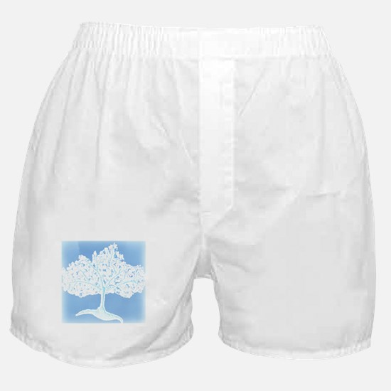 Tree of Life in Blue & White (201 Boxer Shorts