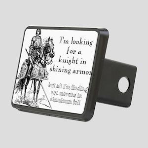 Knight In Shining Armor Funny T-Shirt Rectangular