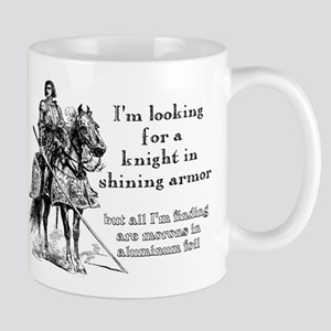 Knight In Shining Armor Funny T-Shirt Mug