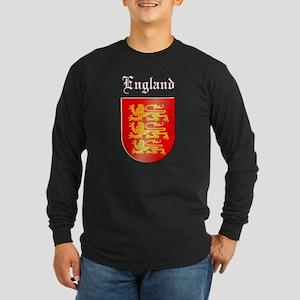 The Royal Arms of England Long Sleeve Dark T-Shirt