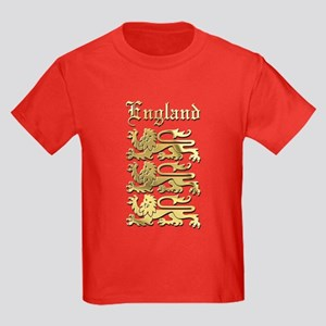 The Royal Arms of England Kids Dark T-Shirt