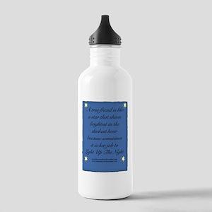 A True Friend Stainless Water Bottle 1.0L