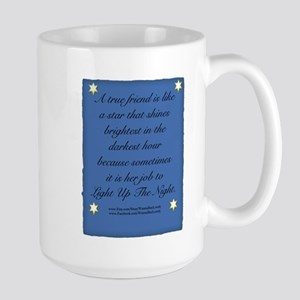 A True Friend Large Mug