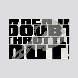 When In Doubt Throttle Out Dirt Bike Motocross Rec