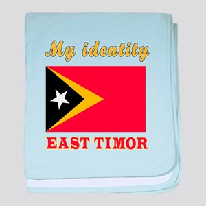 My Identity East Timor baby blanket