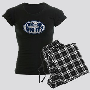 Dig It Dark Blue Women's Dark Pajamas