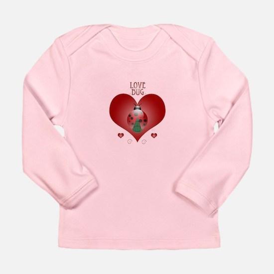 Love Bug - Lady Bug Long Sleeve Infant T-Shirt