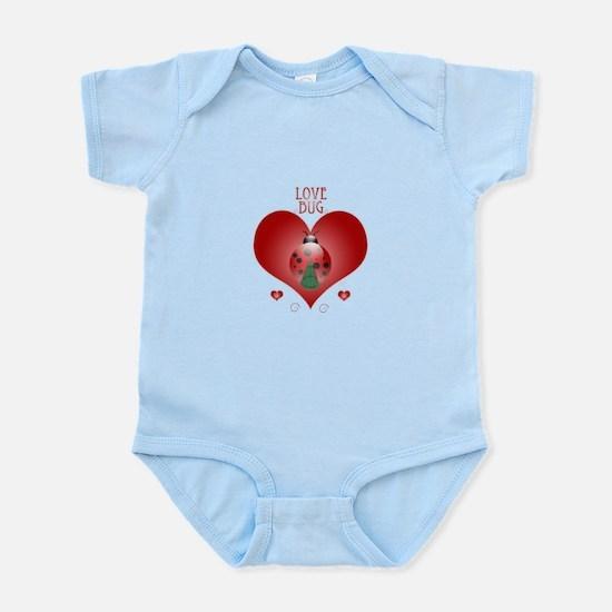 Love Bug - Lady Bug Infant Bodysuit