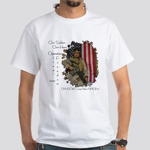 Our Soldier Our Hero White T-Shirt