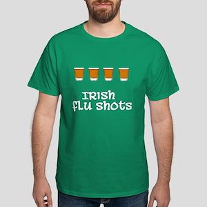 Irish Flu Shots Dark T-Shirt