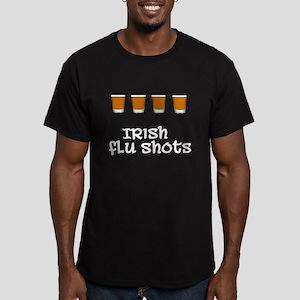 Irish Flu Shots Men's Fitted T-Shirt (dark)