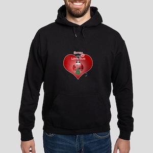 Bitten by the love bug Hoodie (dark)