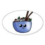 Chibi Pho v2 Sticker (Oval 50 pk)
