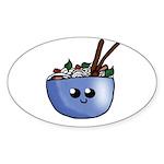 Chibi Pho v2 Sticker (Oval 10 pk)