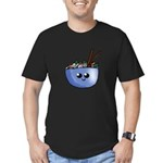 Chibi Pho v2 Men's Fitted T-Shirt (dark)