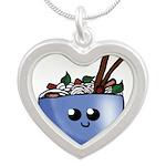 Chibi Pho v2 Silver Heart Necklace