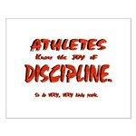 Joy in Discipline. Small Poster