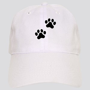 6c6535f6a45 French Bulldog Pawprint Hats - CafePress