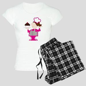 Cupcake Baker Women's Light Pajamas
