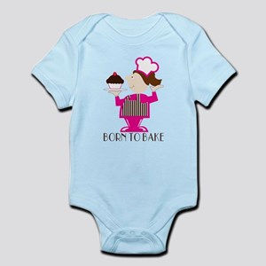 Born Cupcake Baker Infant Bodysuit