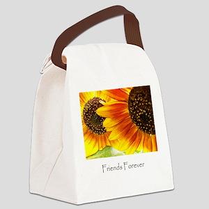 friends forever design Canvas Lunch Bag