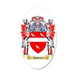 Astbury Oval Car Magnet
