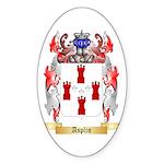 Asplin Sticker (Oval 10 pk)